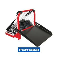 BLUE SPORTS PUCK CATCHER TRANSPORTABLE PUCK HOLDER NOSIČ NA PUKY