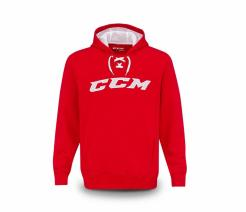 MIKINA CCM TRUE2HOCKEY FLEECE PULLOVER HOOD SR