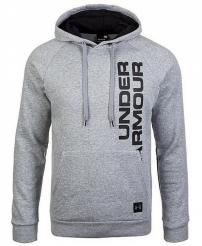 MIKINA UNDER ARMOUR RIVAL FLEECE SCRIPT HOODY 1322028-036