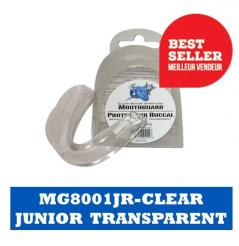 CHRÁNIČ ZUBŮ BLUE SPORTS STRAPLESS MOUTHGUARD JUNIOR CLEAR
