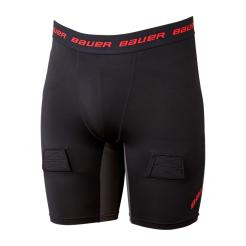 RIBANO SE SUSPENZOREM BAUER ESSENTIAL COMPRESSION JOCK SHORT SR (1054401)