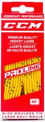 Tkaničky CCM Hockey Laces Wide žluté