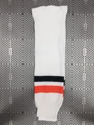 Hokejové stulpny Schanner bílo-černo-oranžové