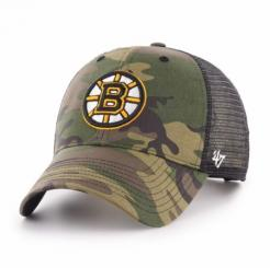 Kšiltovka NHL Boston Bruins Camo Branson 47 MVP