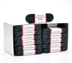Tkaničky Sher-wood Waxed Laces černé